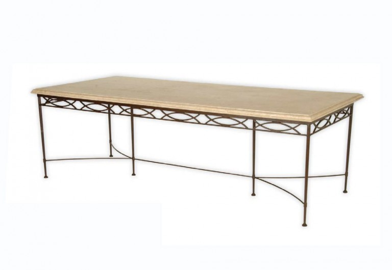 Roma Dining Table With Six Legs