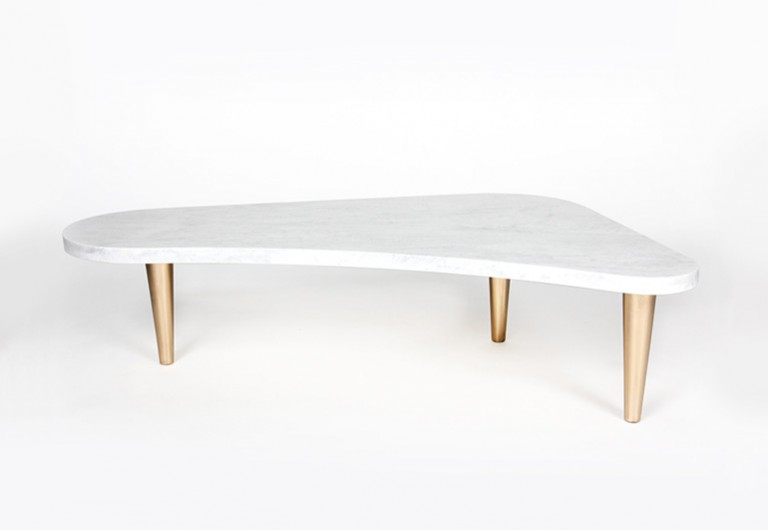 Organic-Shaped Coffee Table