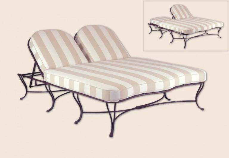 Twig Double Adjustable Chaise