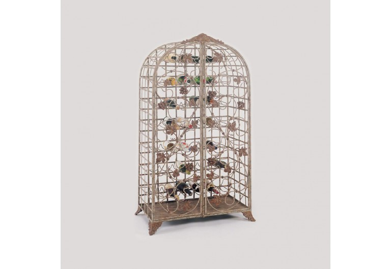 Grape Cluster Wine Cabinet