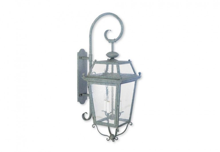 Gibaltar Wall Mounted Exterior Lantern With Bracket