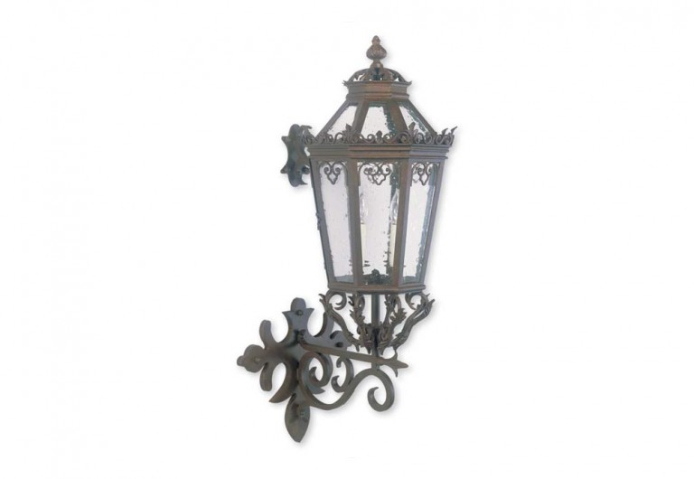 Paradiso Wall Mounted Bracketed Exterior Lantern