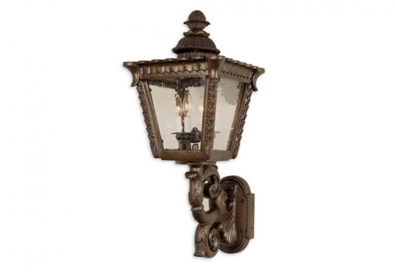 Marisa Wall Mounted Exterior Lantern With Bracket
