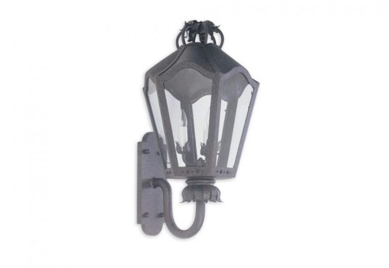 Aviva Wall Mounted Exterior Lantern With Bracket