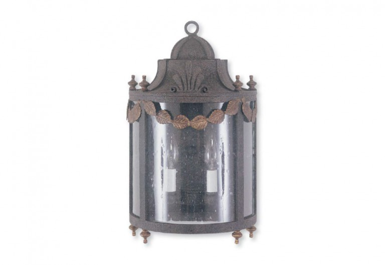 Savoy Hooded Exterior Wall Sconce