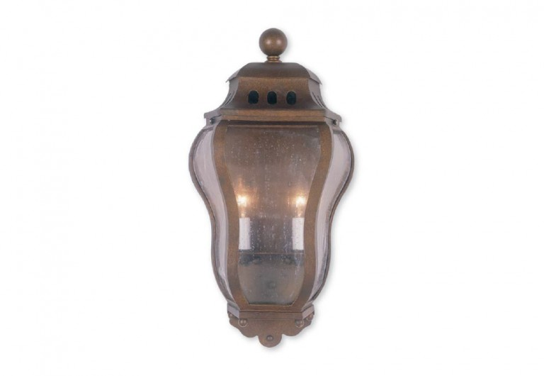 Flemish Exterior Wall Sconce