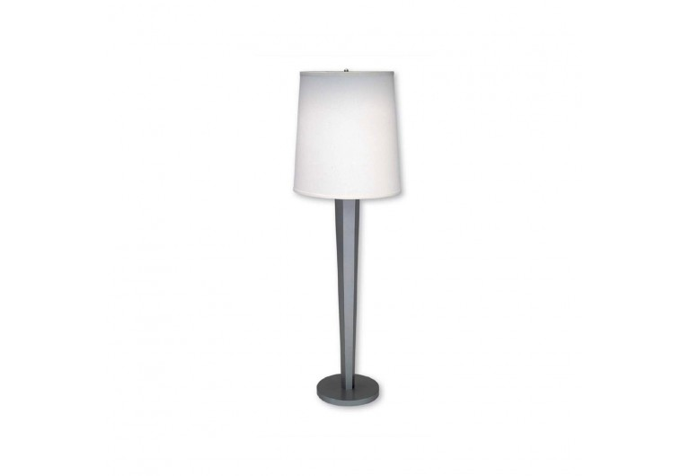 Reverse Tapered Hexagonal Floor Lamp