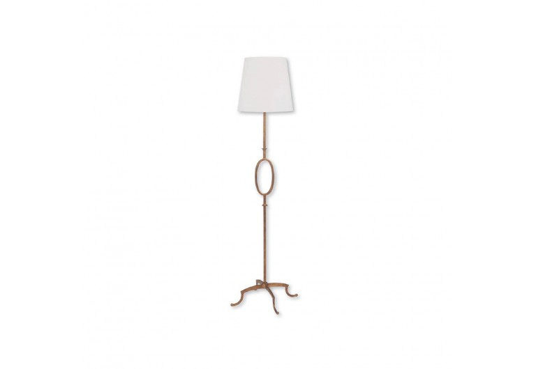 Oval Center Floor Lamp
