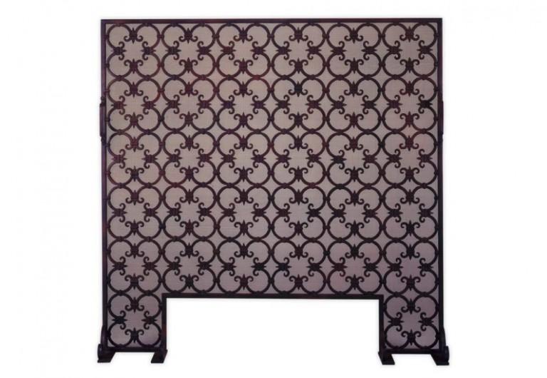 Quatrofoil Fireplace Screen