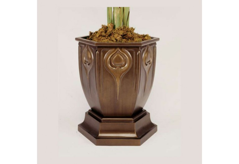 Jugenstil Cast Planter