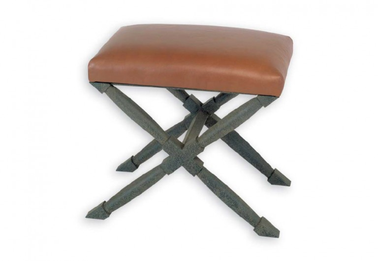 Agatha Stool With Double Tapered Legs