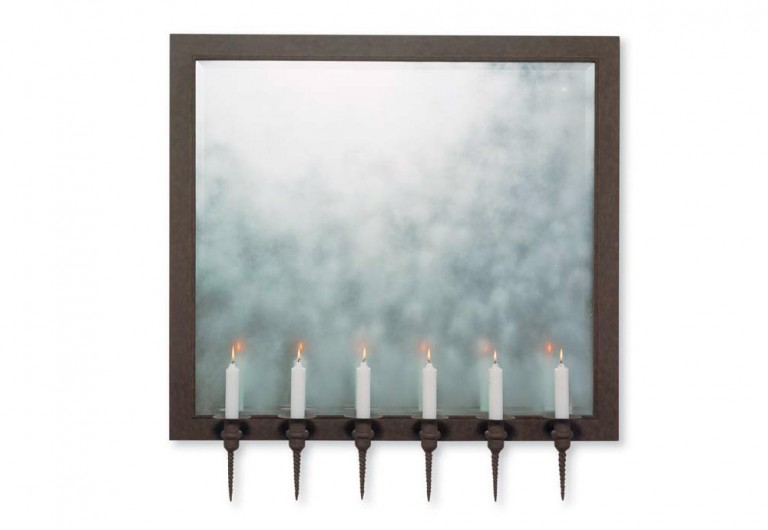 Osmond Wall Mirror For Candles
