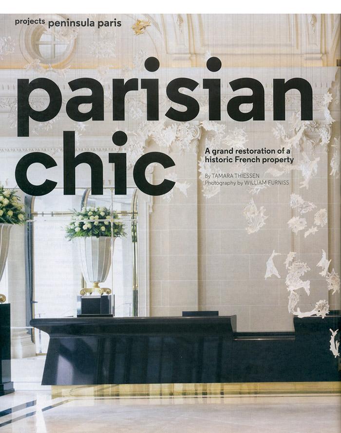 Peninsula Hotel Paris - Murray's Iron Works project