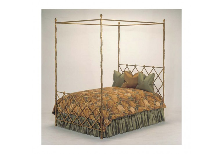 Trellis Canopy Bed