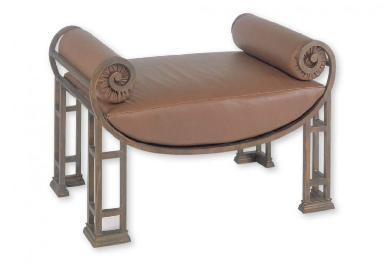 Curved Bottom Bench