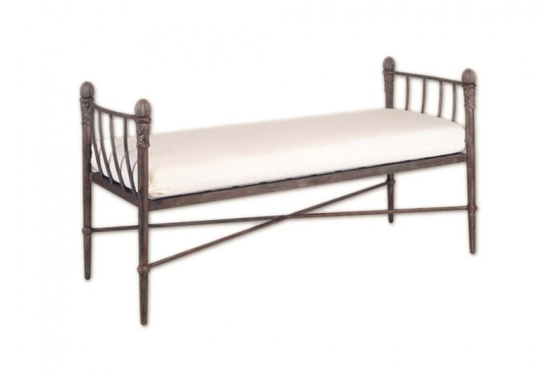Concord Bench W/Arms (No Back)