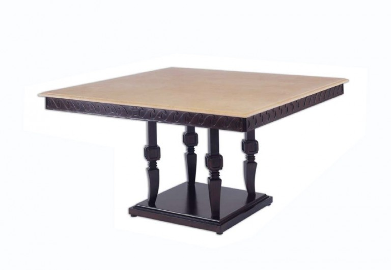 Oceana Square Pedestal Dining Table