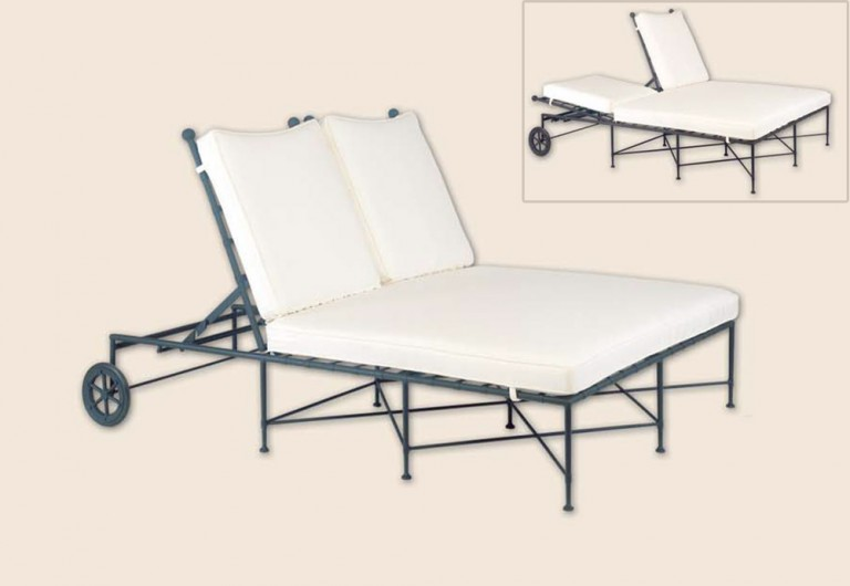 Roma Double Adjustable Chaise