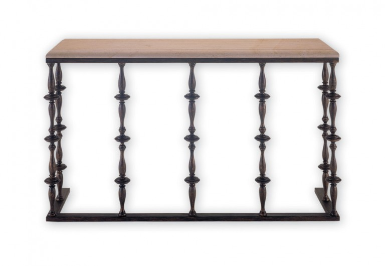 Newel Console Without Cherubs