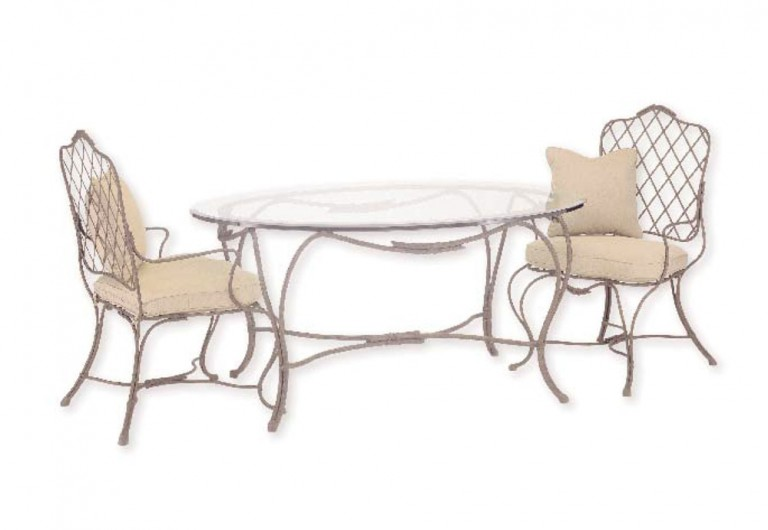 Sovereign Elliptical Oval Dining Table