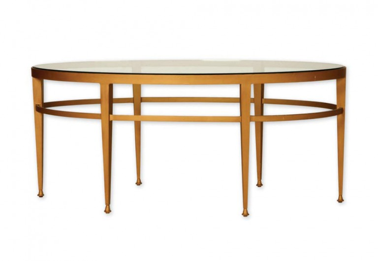Six Tapered Legs Coffee Table