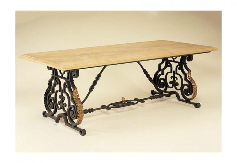 Fleur-De-Lys Dining Table