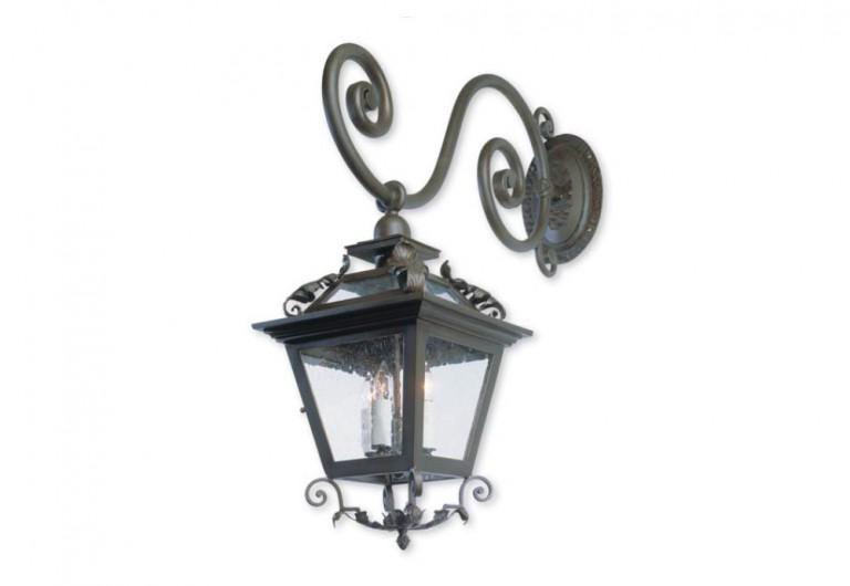 Caminio D'oro Wall Mounted Exterior Lantern With Bracket