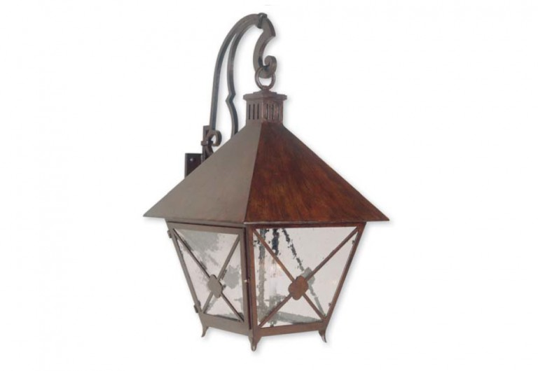 Bilbao Wall Mounted Bracketed Exterior Lantern
