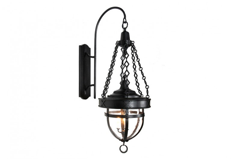 Channing Wall Mounted Bracketed Exterior Lantern