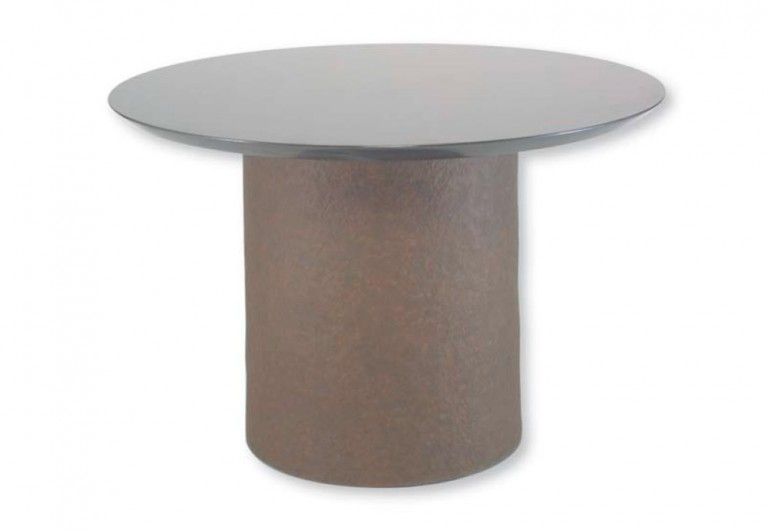 Hammered Drum Focal Table