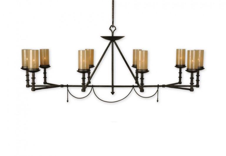Guerlain Rectangular Light Fixture