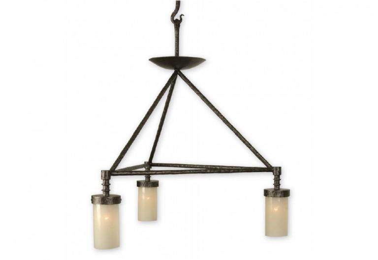 Guerlain Triangular Light Fixture