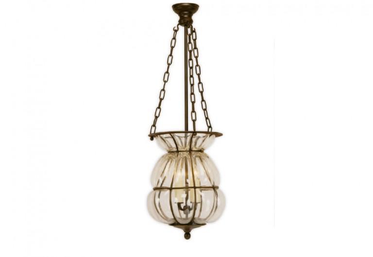 Blown Glass Lantern