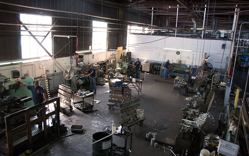 Murray's Workshop Capabilities Machine Shop