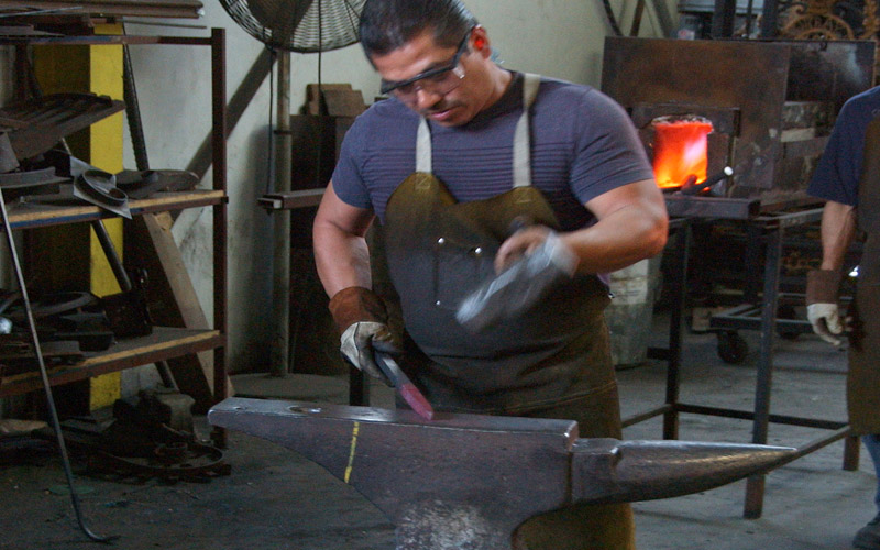 Murray's Workshop Capabilities Blacksmithing