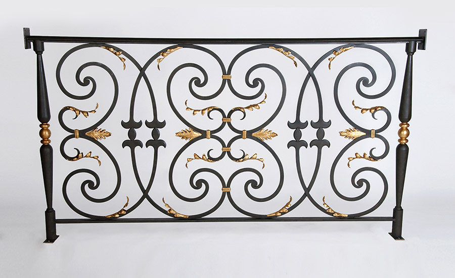 Decorative Railing Section - Murray's Iron Works new products